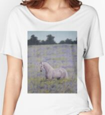 Andalusian Blue Women's Relaxed Fit T-Shirt