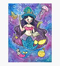 Witchy Mermaid Photographic Print
