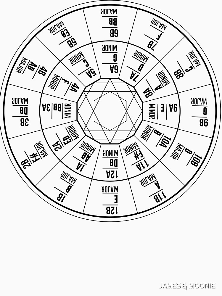 camelot wheel circle of fifths unisex t shirt by lunetta1984 redbubble. Black Bedroom Furniture Sets. Home Design Ideas