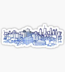 Montreal Skyline Sticker