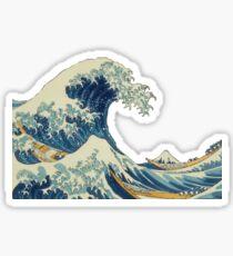 Wellen Sticker