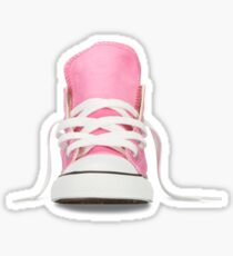 pink shoes Sticker