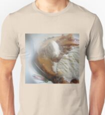 STEAMY Apple Crisp and Vanilla Ice-Cream as is Unisex T-Shirt