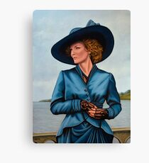Michelle Pfeiffer Painting Canvas Print