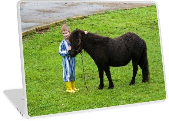 Benjamin and the pony by kraftyman
