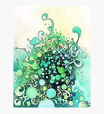 Visible Connections - Watercolor and Pen Art Photographic Print