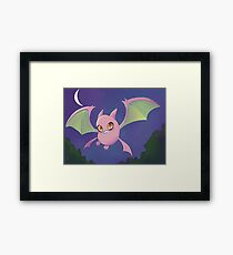 Shiny Crobat Framed Print