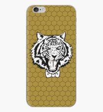 Yuri's Tiger: B&W Honeycomb iPhone Case
