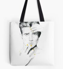 Jacob in Gold Tote Bag