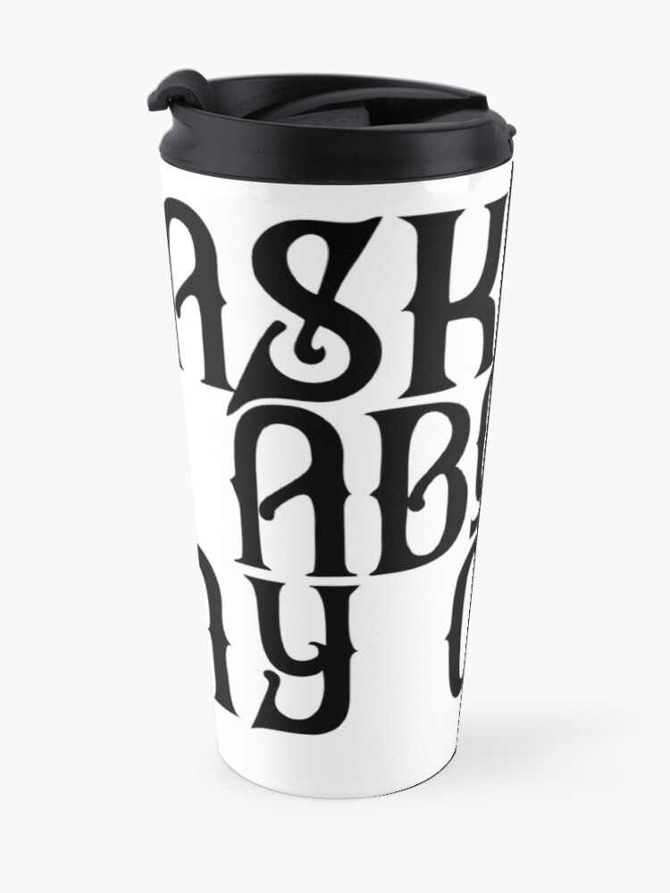 Alternate view of Ask Me About My Coven Travel Mug