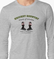 KRICKET KOUNTRY Words of Wisdom on PHOTOGRAPHERS! Long Sleeve T-Shirt