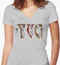 Argonian Appreciation Women's Fitted V-Neck T-Shirt