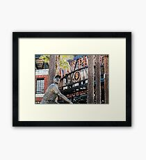 San Francisco Giants Main Gate Framed Print