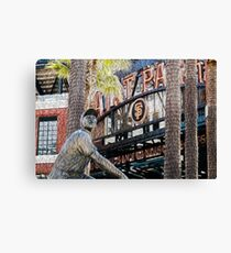 San Francisco Giants Main Gate Canvas Print