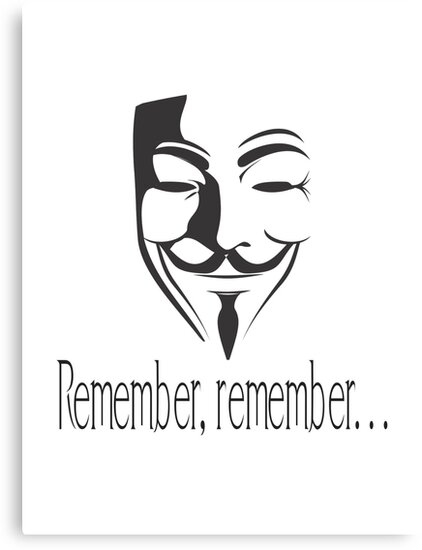 'Remember, remember' Guy Fawkes by thefilmmagazine