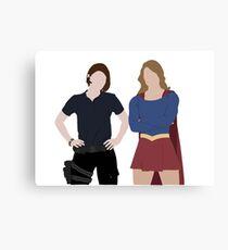 Danvers Sisters Canvas Print