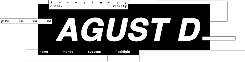 Quot Agust D Quot Stickers By Busanie Redbubble