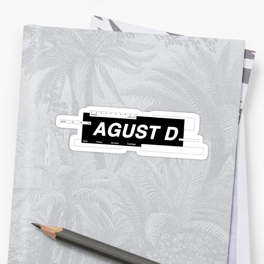 «AGUST D» de busanie