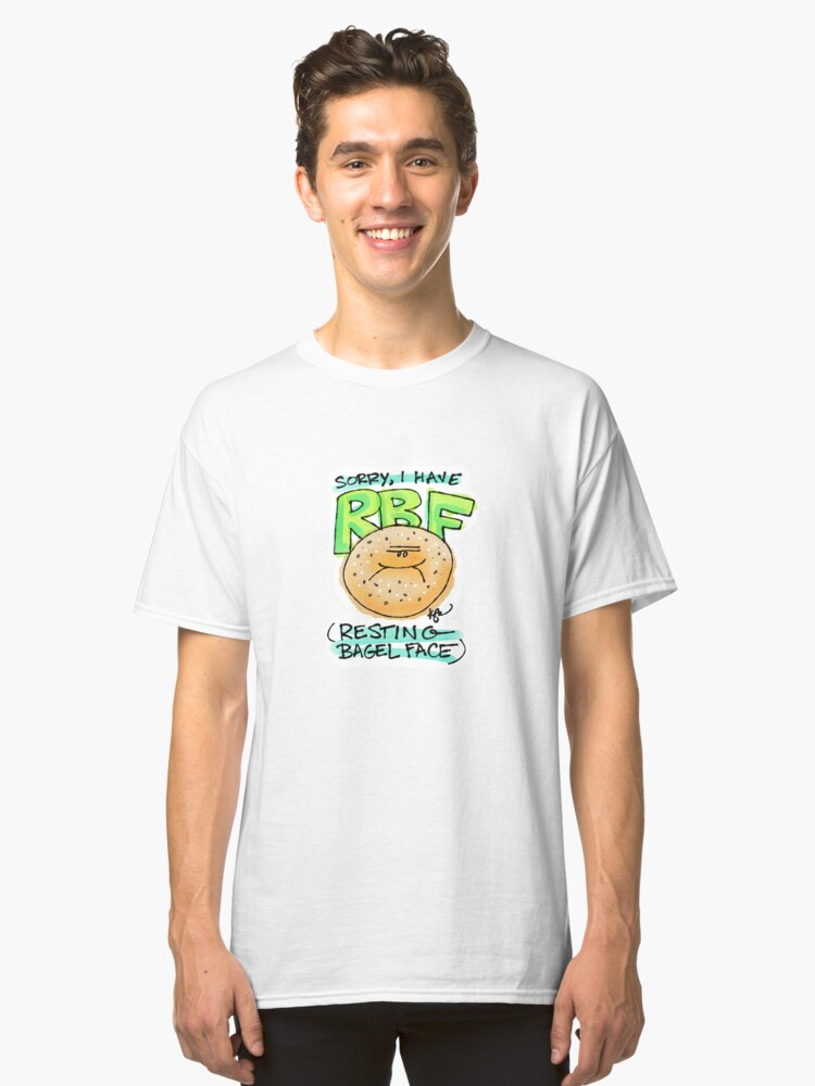 Sorry, I Have RBF Classic T-Shirt Front