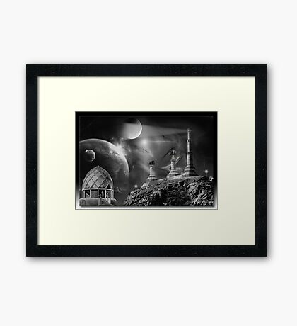 Planet 1958 in the Uicide Galaxy Framed Print