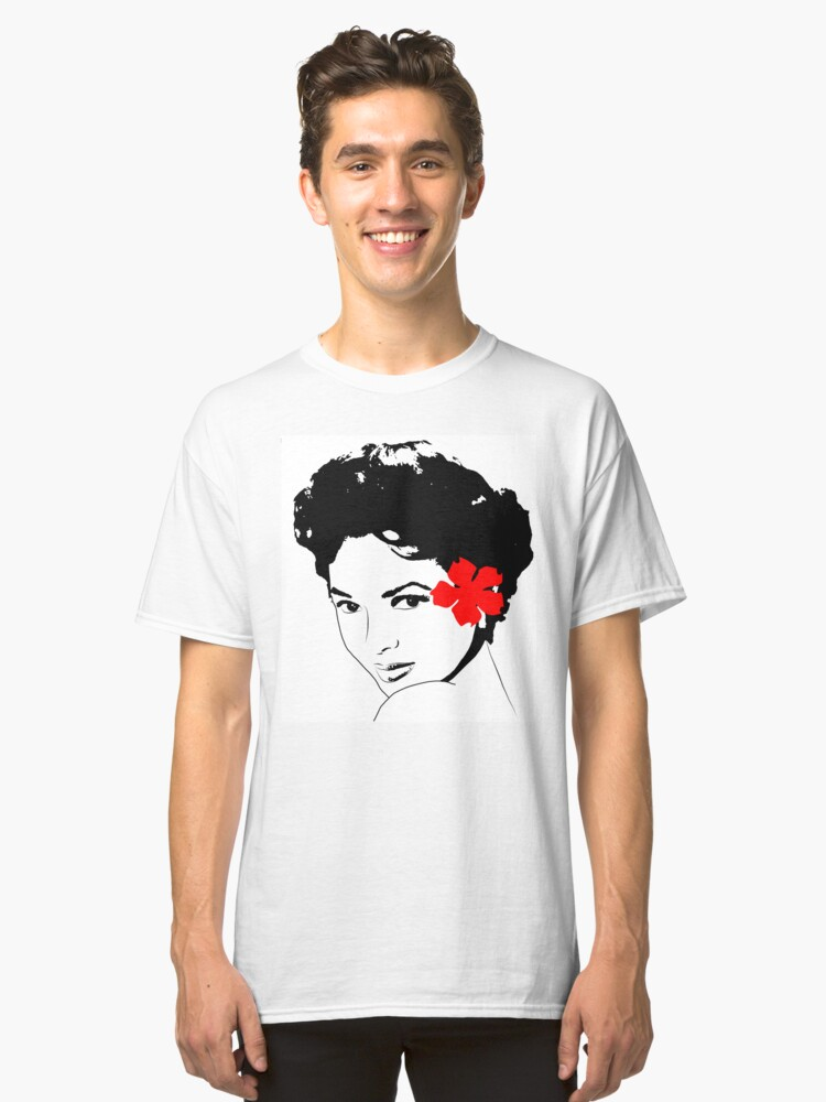 The Miss Dorothy Dandridge Classic T Shirt By Andreanagosto Redbubble