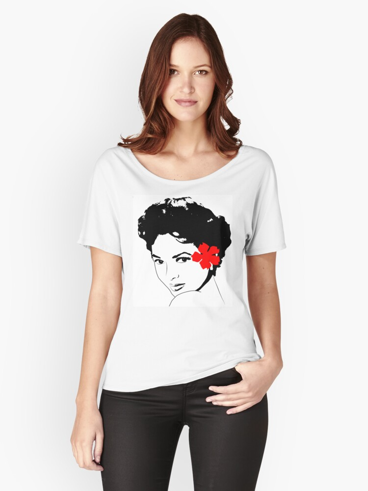 The Miss Dorothy Dandridge Women S Relaxed Fit T Shirt By