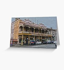 Old Coffee Palace Greeting Card