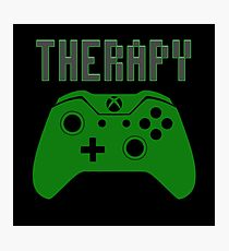 Video Game therapy Photographic Print