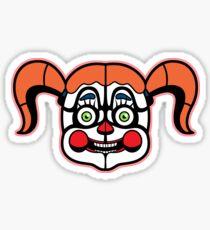 Circus Baby Sticker