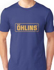 OHLINS SUSPENSION DIRTBIKE UPSIDEDOWN Unisex T-Shirt