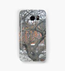 Austrian winter tree Samsung Galaxy Case/Skin