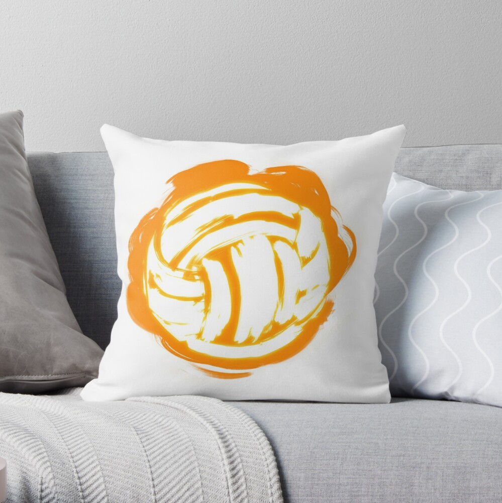 Official Monkeyknot Logo Throw Pillow