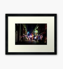 Ueno night Framed Print