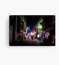 Ueno night Canvas Print