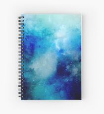 Water Color Galaxy 2 Spiral Notebook