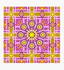 Celestial Matrix Mandala Photographic Print