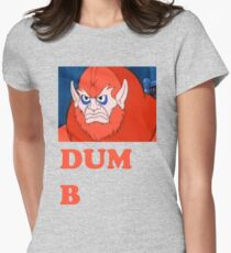 BEASTMAN SUCKS Womens Fitted T-Shirt