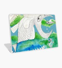 Big Fish Little Fish Laptop Skin