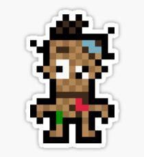 Pixel Voodoo Vince Sticker