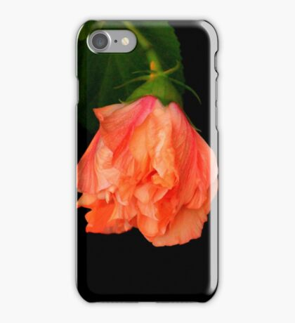 Hibiscus Bud iPhone Case/Skin