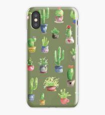 Mein kleiner grüner Kaktus iPhone Case/Skin