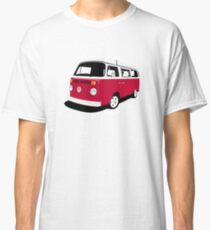 Camper Late Bay dark red and white Classic T-Shirt