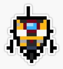 Pixel Claptrap Sticker