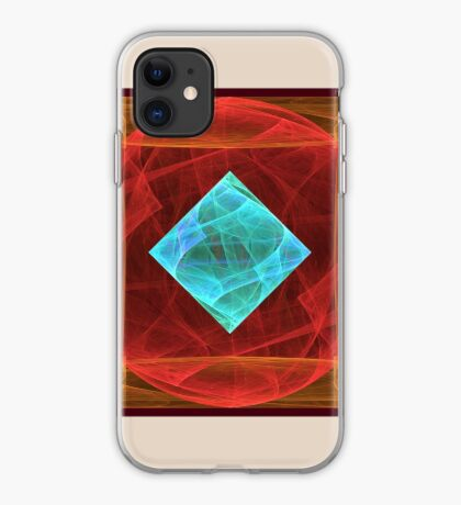 Antiquarian Pulsar #fractal art iPhone Case