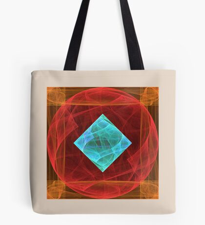 Antiquarian Pulsar #fractal art Tote Bag