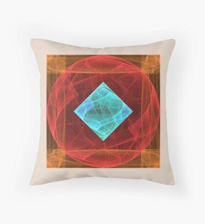Antiquarian Pulsar #fractal art Throw Pillow