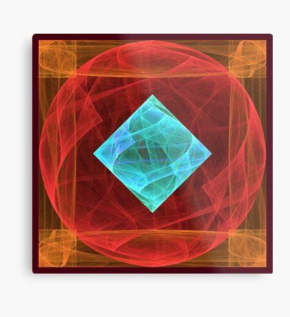 Antiquarian Pulsar #fractal art Metal Print