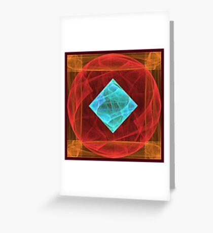 Antiquarian Pulsar #fractal art Greeting Card
