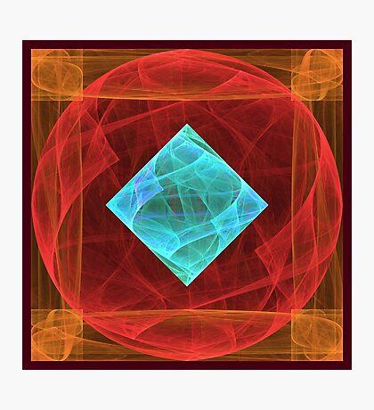 Antiquarian Pulsar #fractal art Photographic Print