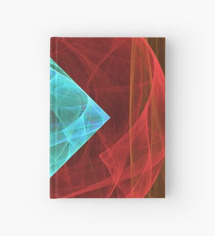 Antiquarian Pulsar #fractal art Hardcover Journal